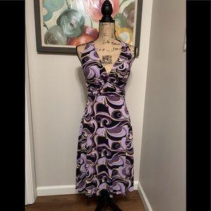 Pretty & Flattering Dressbarn Halter Dress 💕